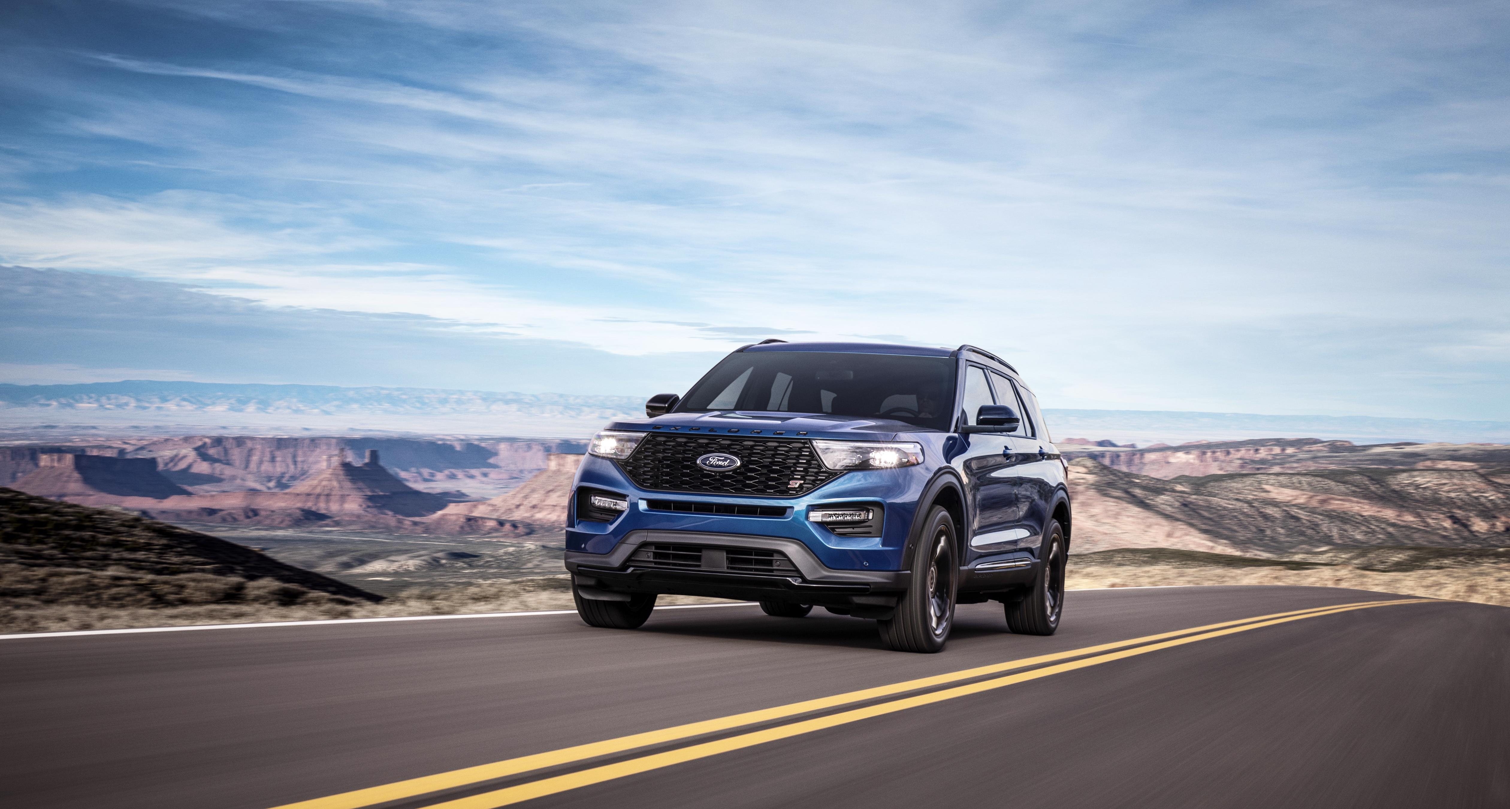 [Photos] The 2020 Ford Explorer ST and Explorer Hybrid ...