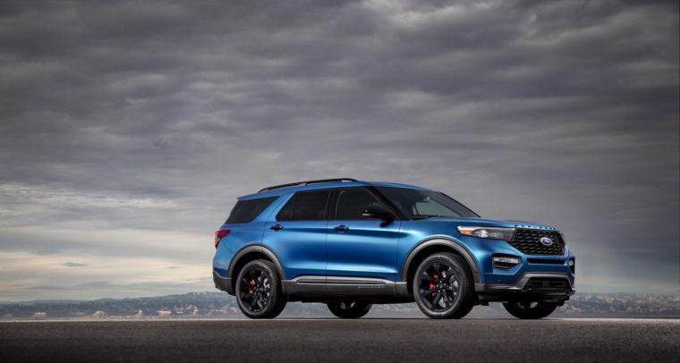 Photos The 2020 Ford Explorer St And Explorer Hybrid