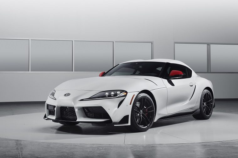 2020 Supra Launch Edition exterior