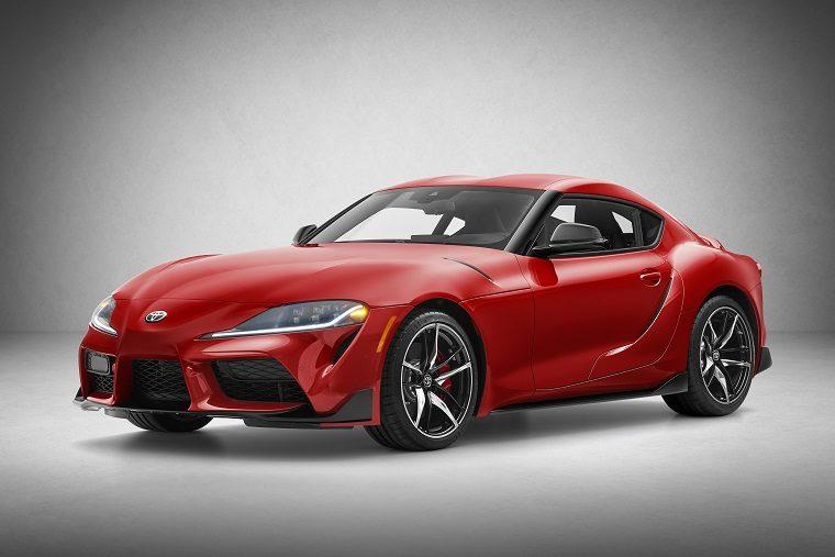 2020 Toyota GR Supra studio shot