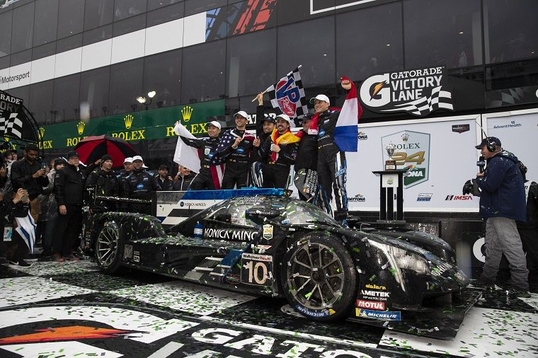 Cadillac Racing after winning Daytona 24 Hour 2019