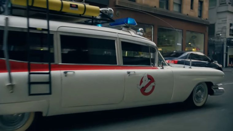 Famous movie cars in Walmart commercial vehicles Ecto-1 Ghostbusters