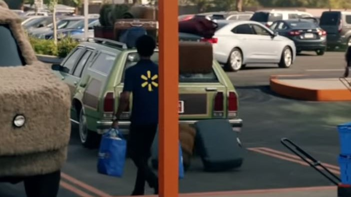 Famous movie cars in Walmart commercial vehicles Griswold Wagon Queen Family Truckster