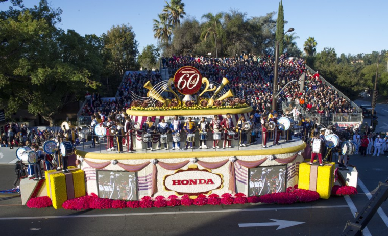 Icymi  130th Rose Parade Presented By Honda Entertains And
