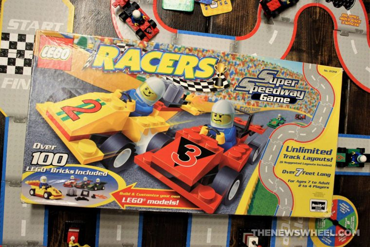 LEGO Racers Super Speedway Game review family car board game box buy