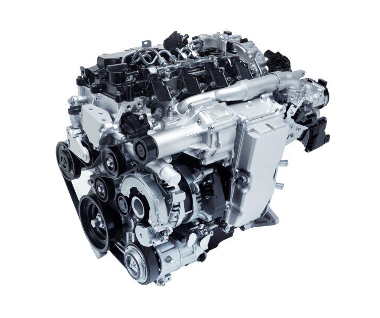Mazda SKYACTIV-X Engine 2019
