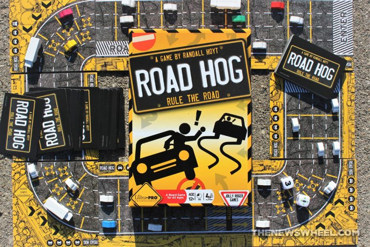 Road Hog board game review highway car traffic automotive play Jolly Roger Games 2016 Ultra Pro