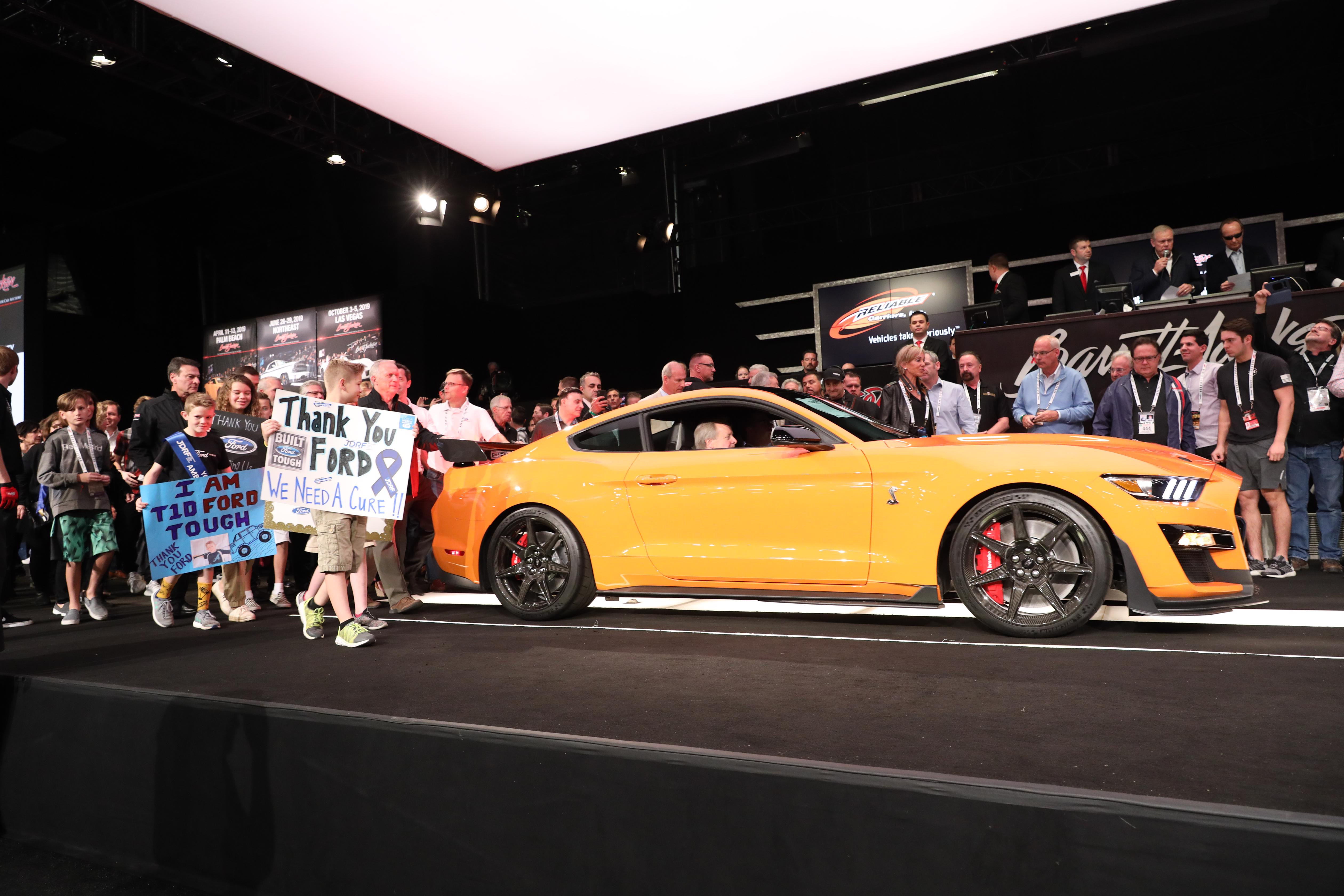 VIN 001 2020 Mustang Shelby GT500 Fetches $1.1M at Barrett ...