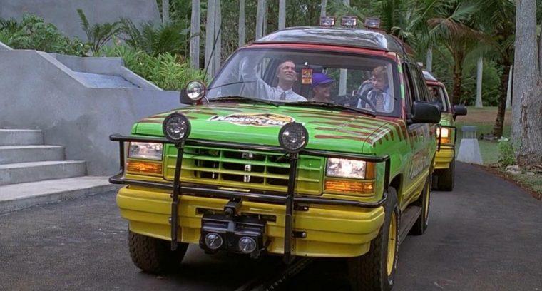 Jurassic Park Ford Explorer