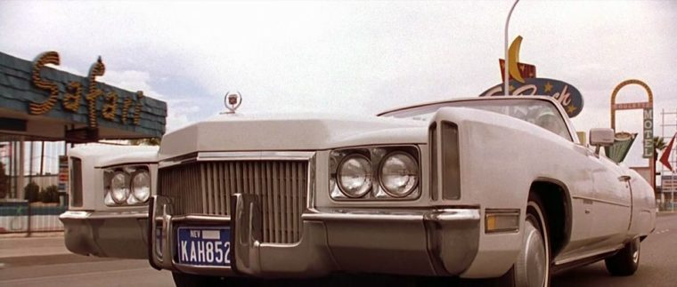 Coolest Cadillacs in Cinema: The White Whale in Fear and Loathing in Las Vegas