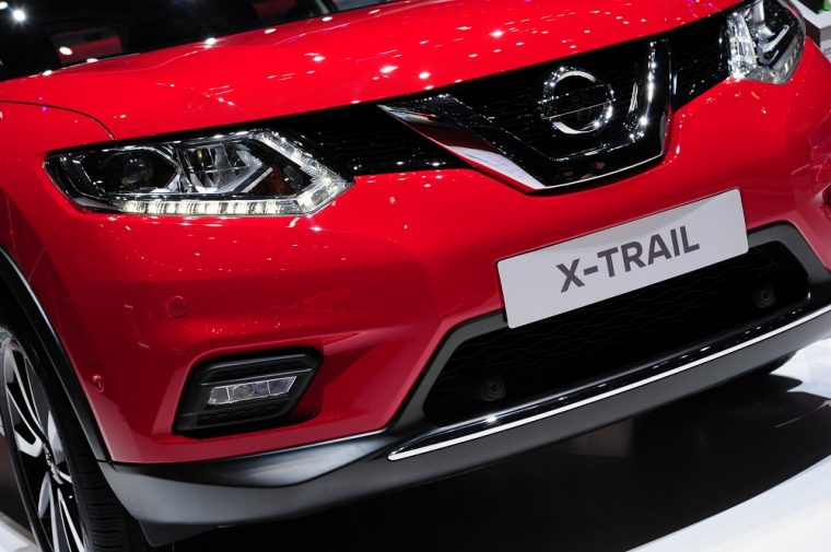Nissan X-Trail in Geneva 2016