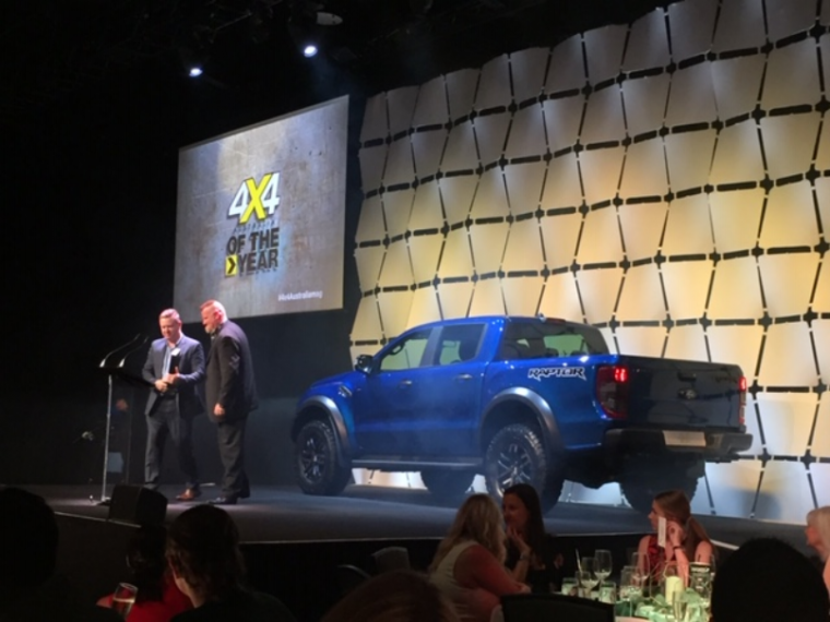 2019 Ford Ranger Raptor 4x4 of the Year
