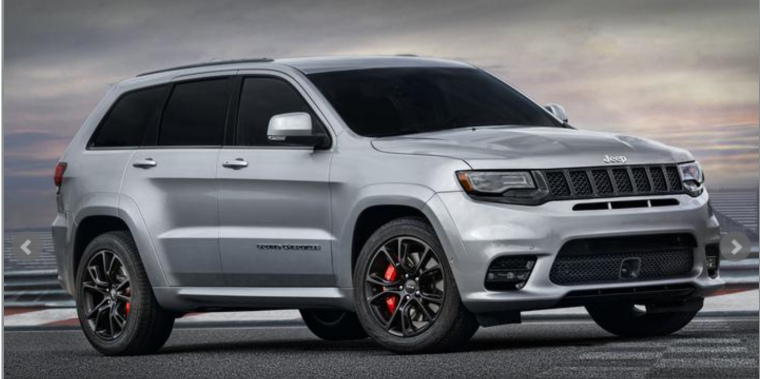 2019 Jeep Grand Cherokee SRT Named One of the Best V8 SUVs ...