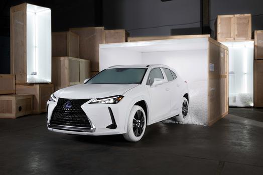 2019 Lexus UX Sole of UX