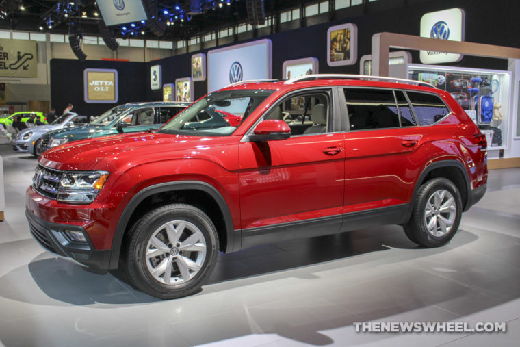 the latest Volkswagen models at Chicago Auto Show
