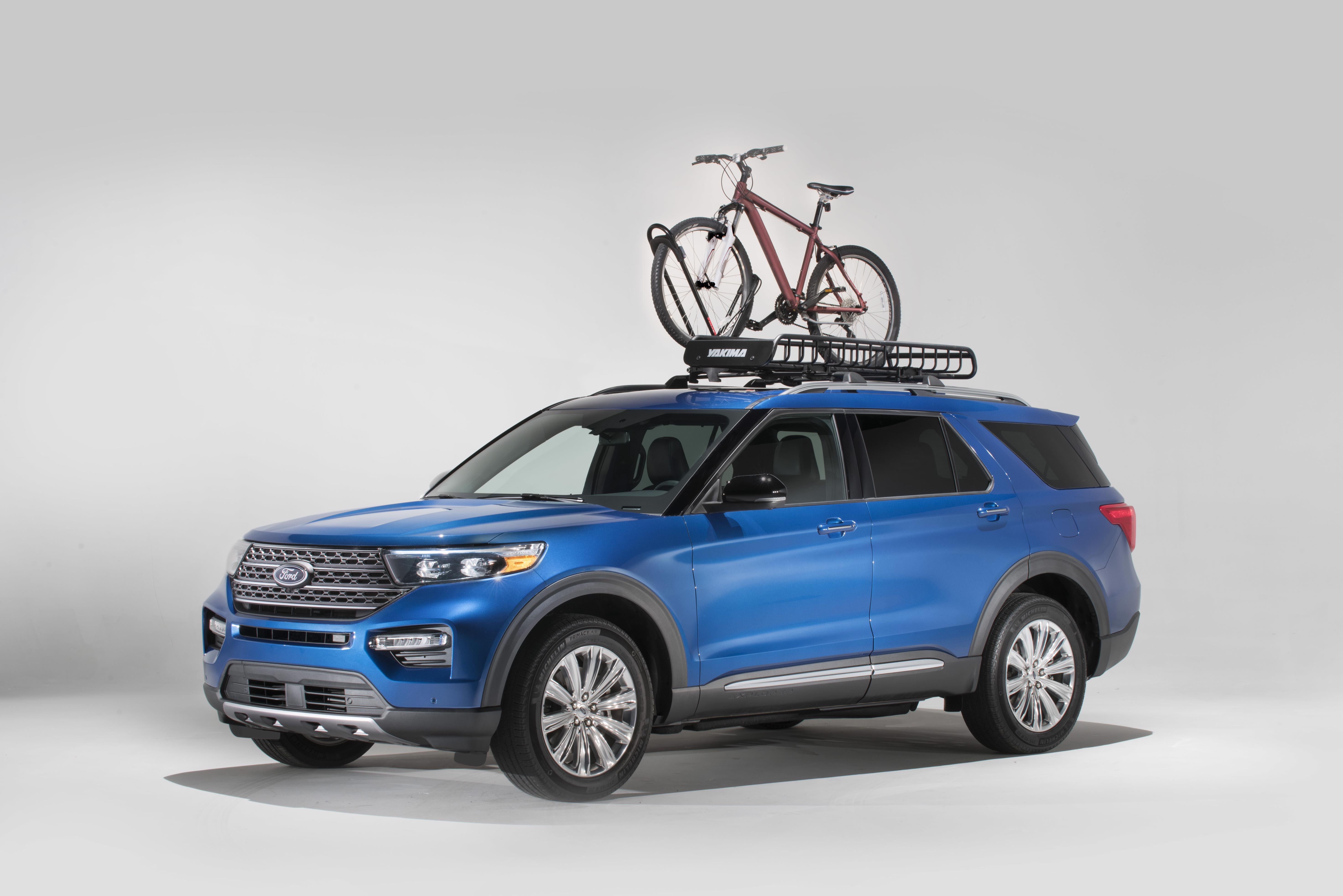 9 Ford Explorer Offered With Yakima Accessories - The News Wheel