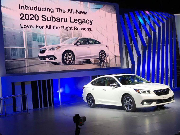 Subaru Continues Its Legacy With the All-New 2020 Legacy - The News