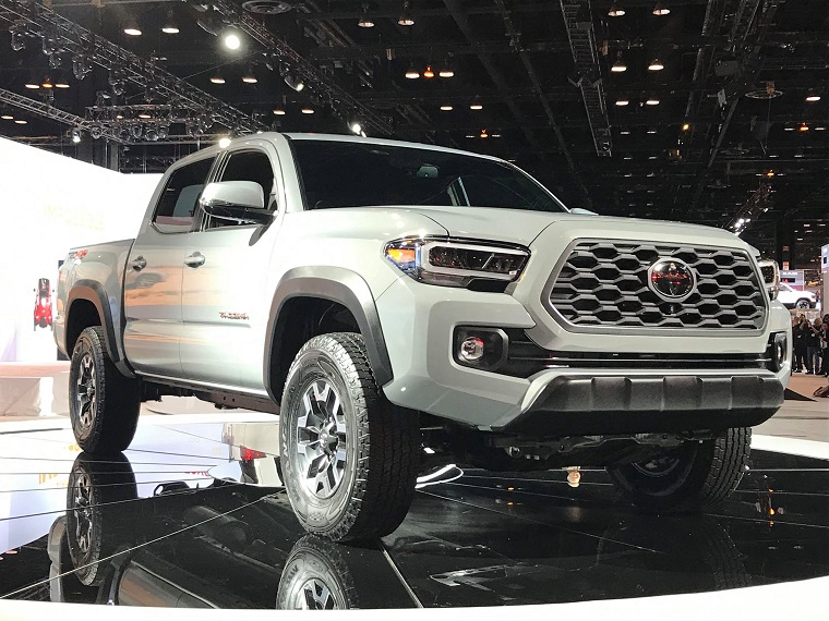 [PICTURES] Toyota Unveils Big TRDs at Chicago Auto Show ...