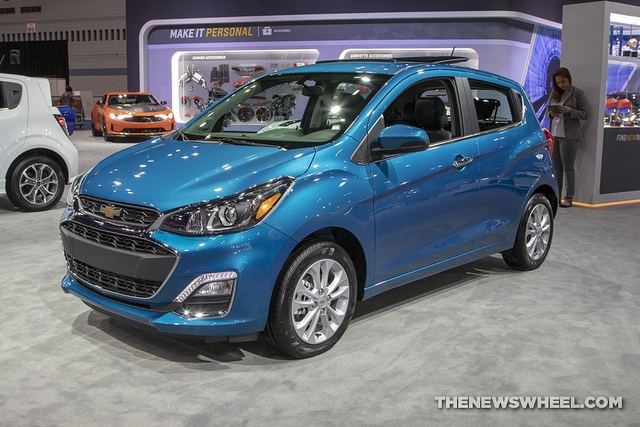 2019 Chevy Spark Ls Earns Praise From Us News For Its Uncomplicated Tech The News Wheel