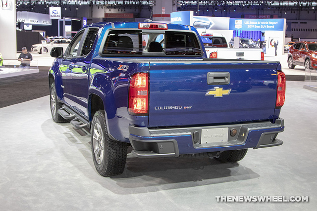 2019 chevrolet colorado chicago auto show