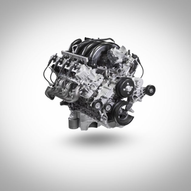 7.3-liter V8 Gas Engine