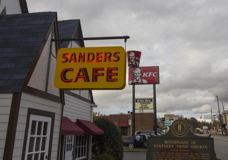 Sanders cafe in corbin, kentucky