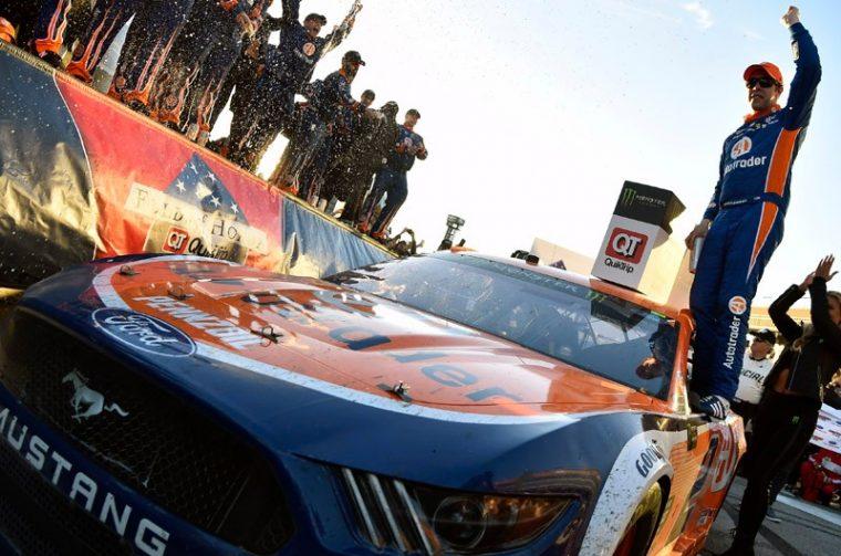 Brad Keselowski Ford Mustang Atlanta Motor Speedway