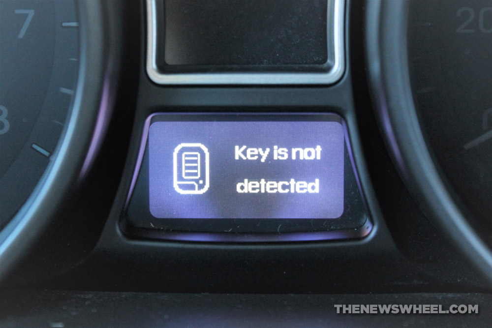 My Car Won T Detect The Key Fob What Should I Do The News Wheel