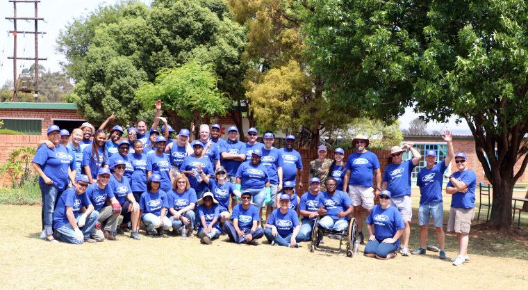 Ford Global Caring Month - South Africa