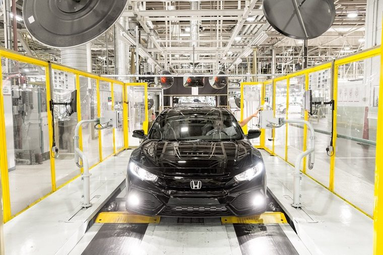 Honda Civic at Swindon Factory