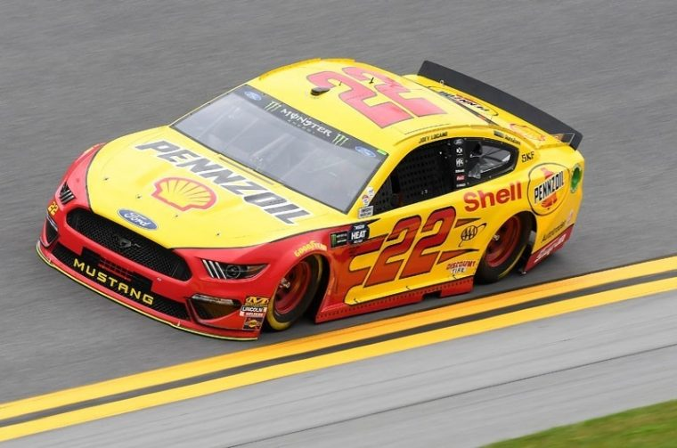 Joey Logano Ford NASCAR Mustang Clash at Daytona