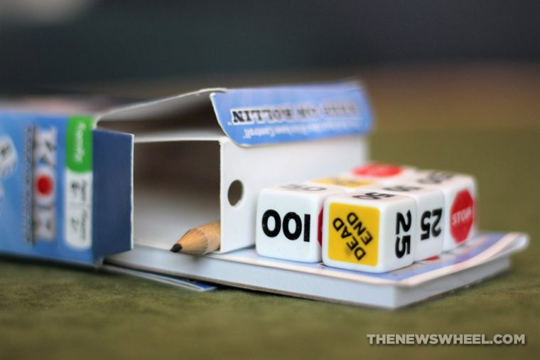 KOR Keep on Rollin Dice Game review Talicor semi truck box