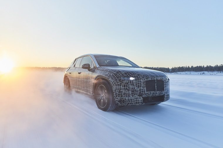 BMW iNEXT Winter Testing