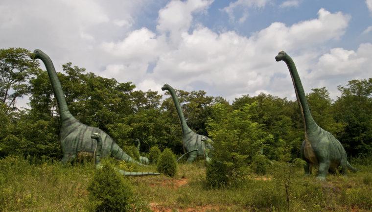 Dinosaur Park in Cave City, Kentucky