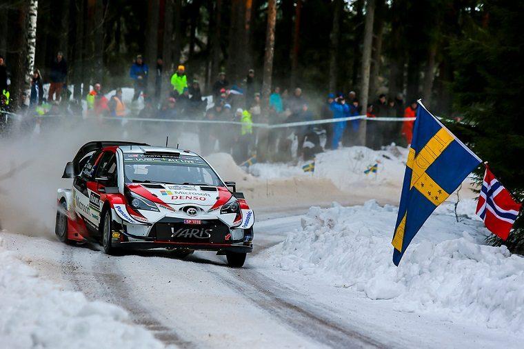 Toyota Gazoo Racing at Rally Sweden 2019