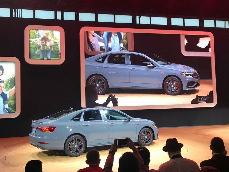 2019 VW Jetta GLI at the Chicago Auto Show