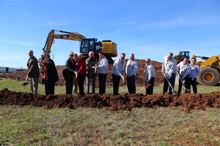 Nissan breaks ground on Decherd Tennessee Advanced Manufacturing