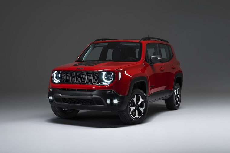 Plug-in hybrid Jeep Renegade Charging Stations