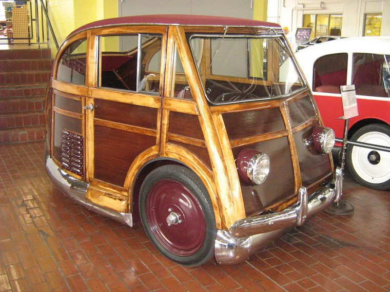 1950 Martin Stationette at the Lane Motor Museum