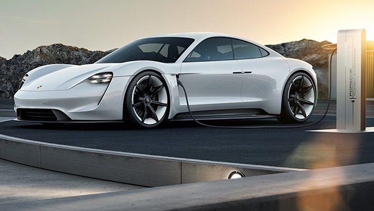 2015 Porsche Mission E concept car