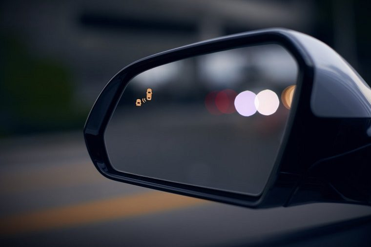 hyundai safety features blind spot warning