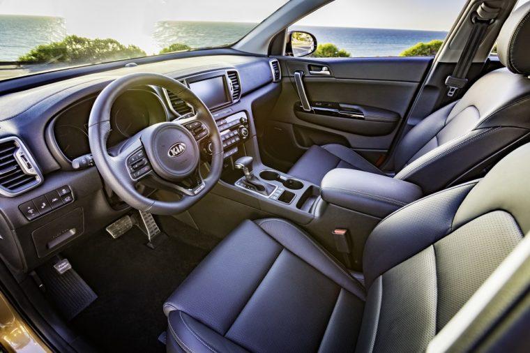 2019 Kia Sportage Interior