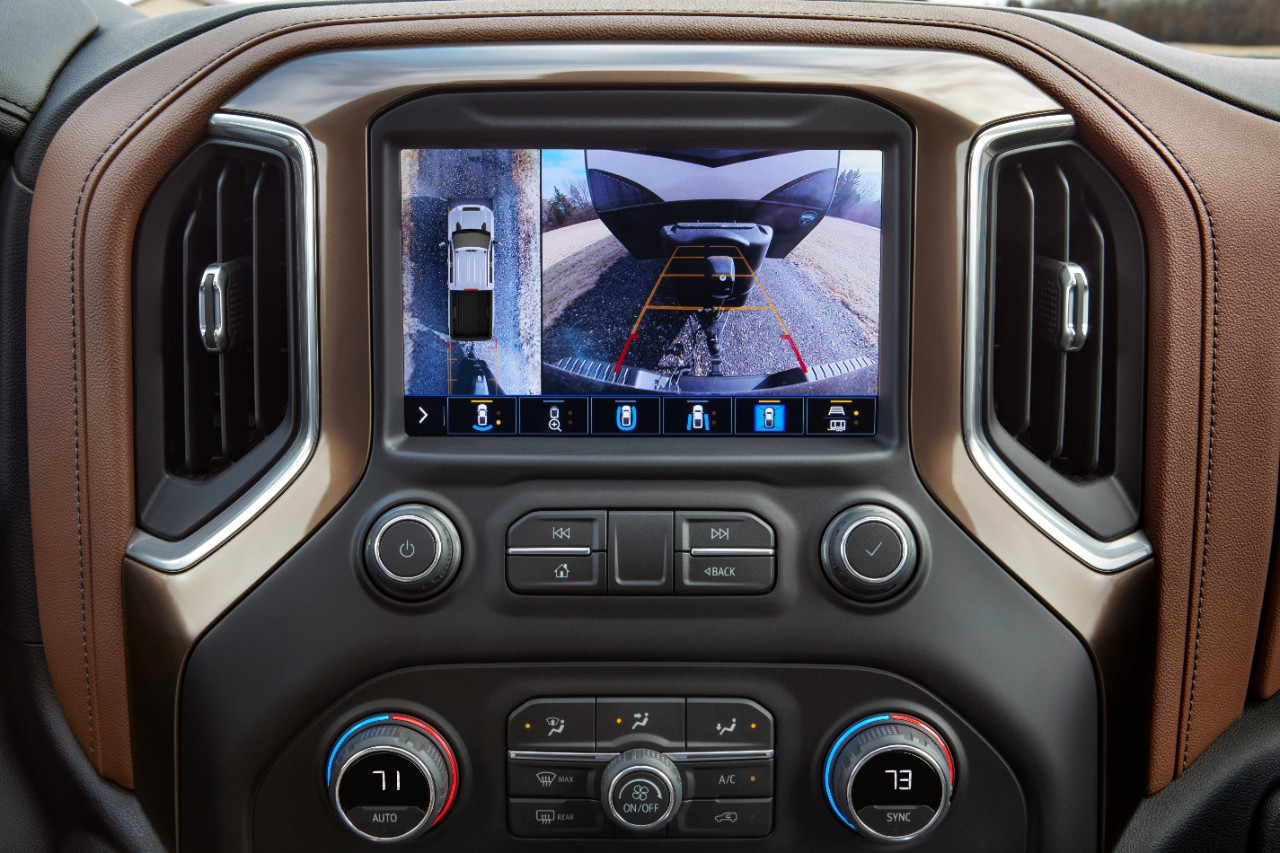 2020 chevy silverado HD rearview backup camera