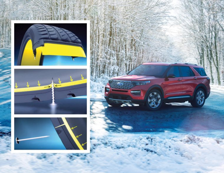 2020 Ford Explorer Michelin Selfseal tires