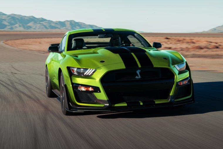 2020 Ford Mustang Grabber Lime