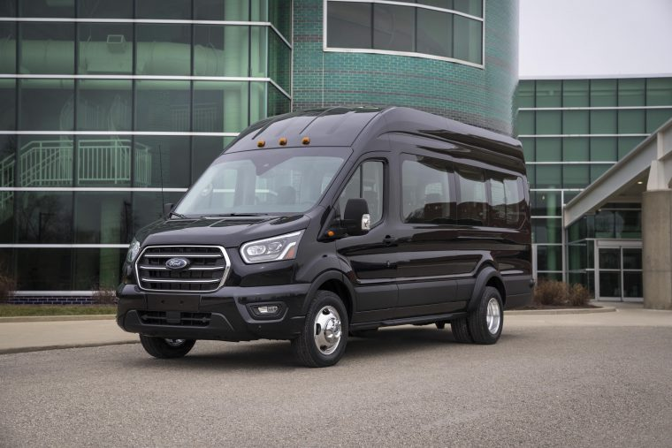 Ford Transit Passenger Van >> Ford Vans Add A Whole Lot Of Value To The European Economy