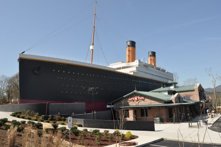 Titanic Museum in Pigeon Forge, Tennessee