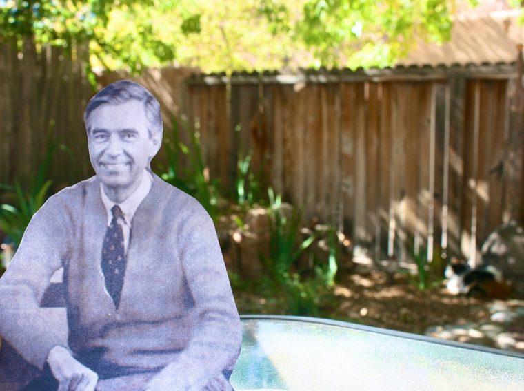 Mister Rogers' car got stolen