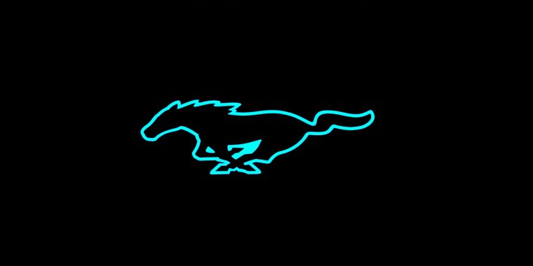 Ford Mustang Electric Logo