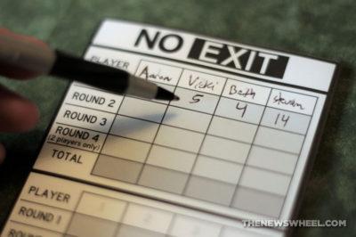 No Exit Board Game Car Pressman Toys 2013 road tile race scores